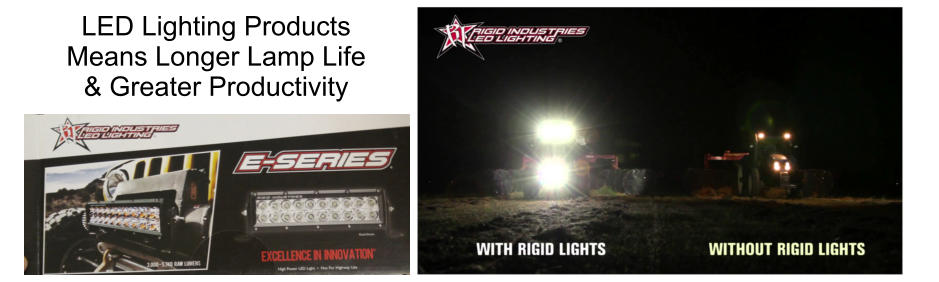 LED Lighting Products Means Longer Lamp Life & Greater Productivity
